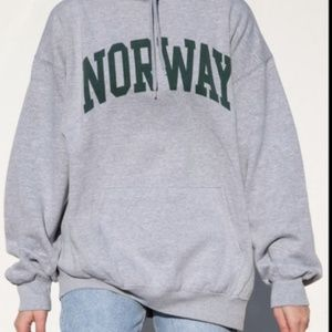BRANDY MELVILLE Norway Hoodie Sweatshirt